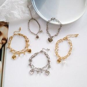 Женский браслет с цирконием, розовый/серый браслет со стразами, вечерние украшения для свадьбы