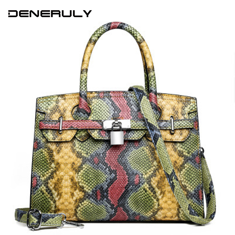 2020 Bags For Women Snake Printing Crossbody Bags Modis Leather Bags Ladies Bag Women Leather Handbags Tote Bags For Women