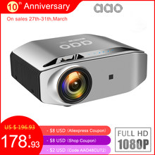 AAO Native 1080p Full HD Projektor YG620 LED Proyector 1920x1080P 3D Video YG621 Drahtlose WiFi Multi-bildschirm Beamer Heimkino(China)