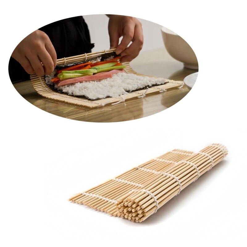 Японский набор для суши, коврик для суши, аксессуары bento, бамбуковые коврики, морские водоросли, ролл, инструменты для суши, прочный Набор для суши, инструменты для обеда-4