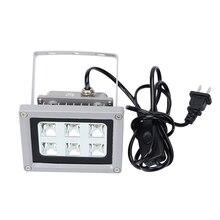 УФ светодиодный светильник s УФ смола затвердевает светочувствительный отверждаемый светильник лампа для SLA/DLP 3d принтер 405nm 60 Вт Выход влияет