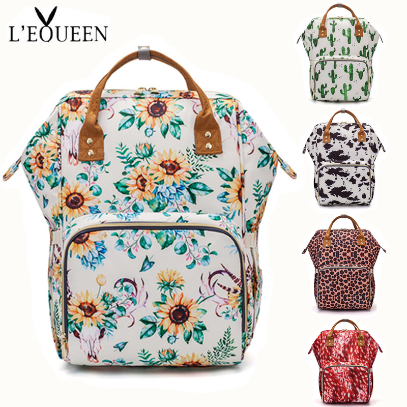 LEQUEEN Diaper Bag Baby Care Backpack Travel Bag Waterproof Antifouling Backpack Stroller Bag Nappy Bag Stroller Bag