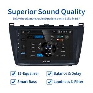 Image 4 - Dasaita radio estéreo con GPS para coche, Pantalla táctil IPS de 9 pulgadas, Android 10,0, Bluetooth, TDA7850, 4GB de RAM, para Mazda 6, 2009, 2010, 2011, 2012