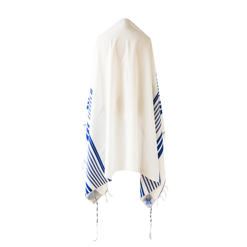 Image 4 - 140x190cm Tallit  Jewish Prayer scarf big size Tallits Star of DavidMens Scarves   -
