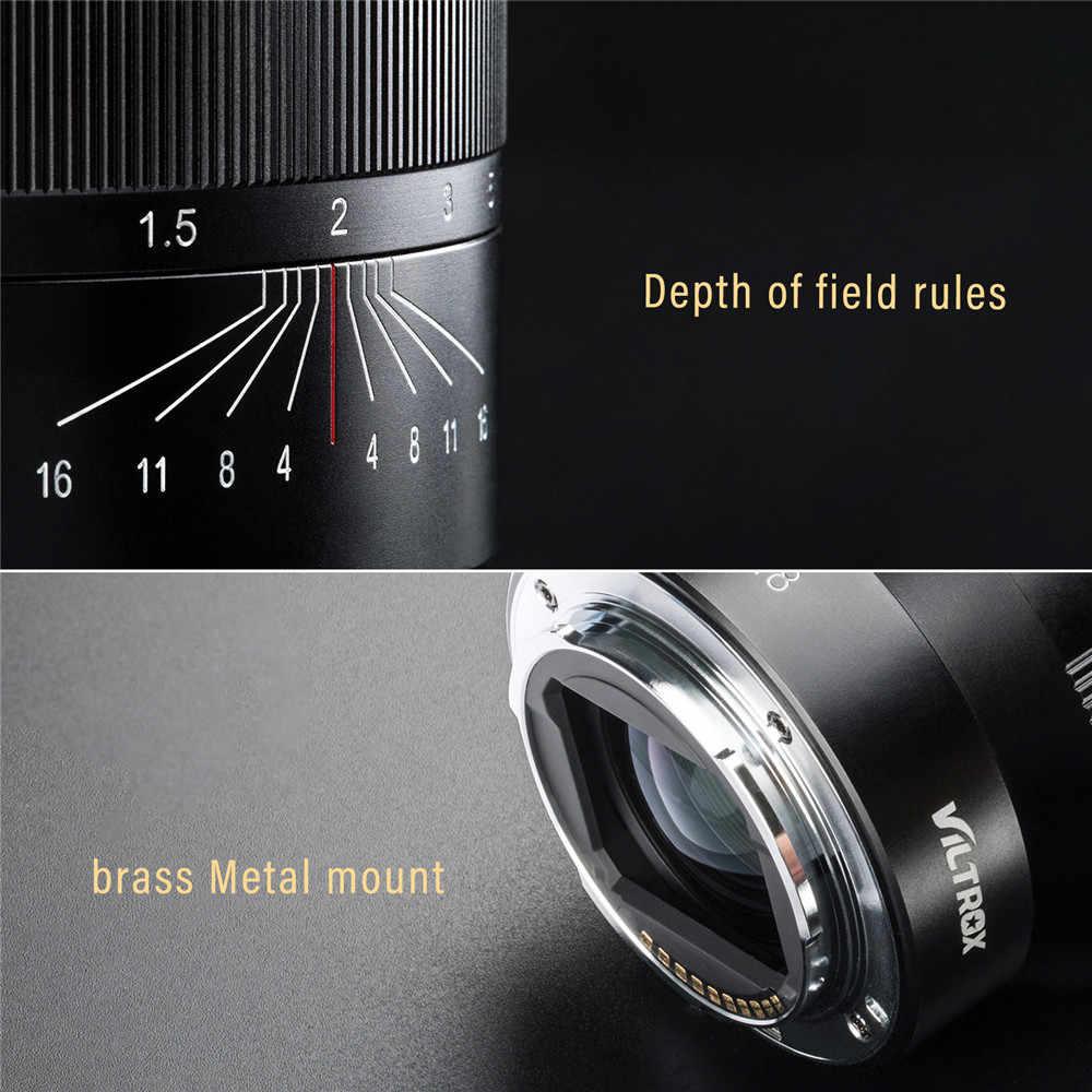 VILTROX 85mm f/1,8 линзы Полнокадровый AF объектив с фиксированным фокусным расстоянием с автофокусом для объектива для Fujifilm Fuji FX-крепление Камера F1.8 FX-Крепление объектива