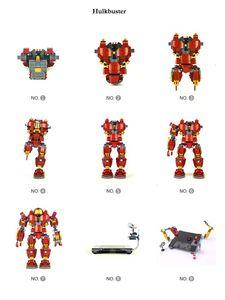 Image 2 - Người Sắt Hulkbuster Lepining 76105 Marvel Iron Man Avengers Siêu Anh Hùng Mẫu Bộ Khối Xây Dựng Bé Trai Giáng Sinh Quà Tặng Đồ Chơi Trẻ Em