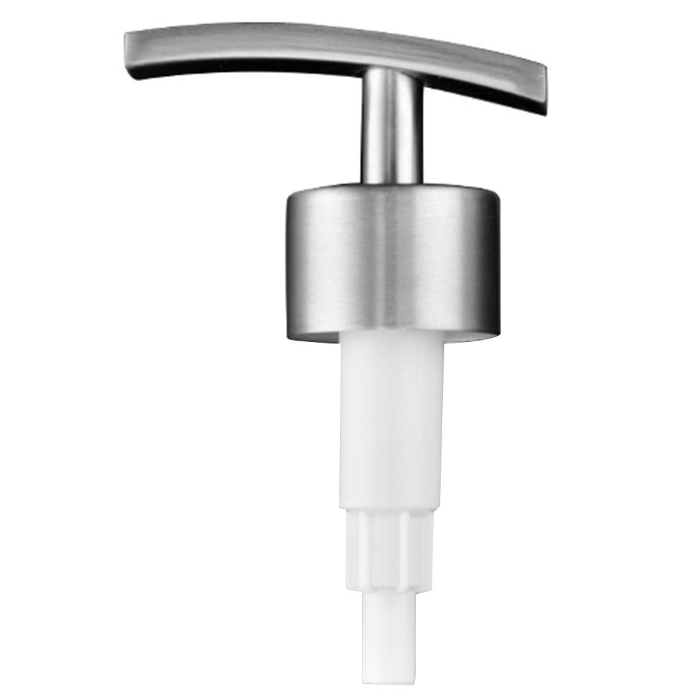 Soap Dispenser Pump 304 Stainless Steel Kitchen Bathroom Soap Liquid Lotion Bottle Press Pump Replacement Accessories