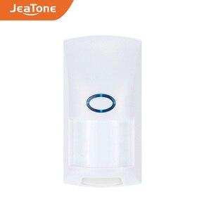 Image 1 - JeaTone Sem Fio Pet Imune PIR Sensor De Movimento Detector 433 Mhz Home Security Motion Sensor Infravermelho Detector Para Sistema De Alarme