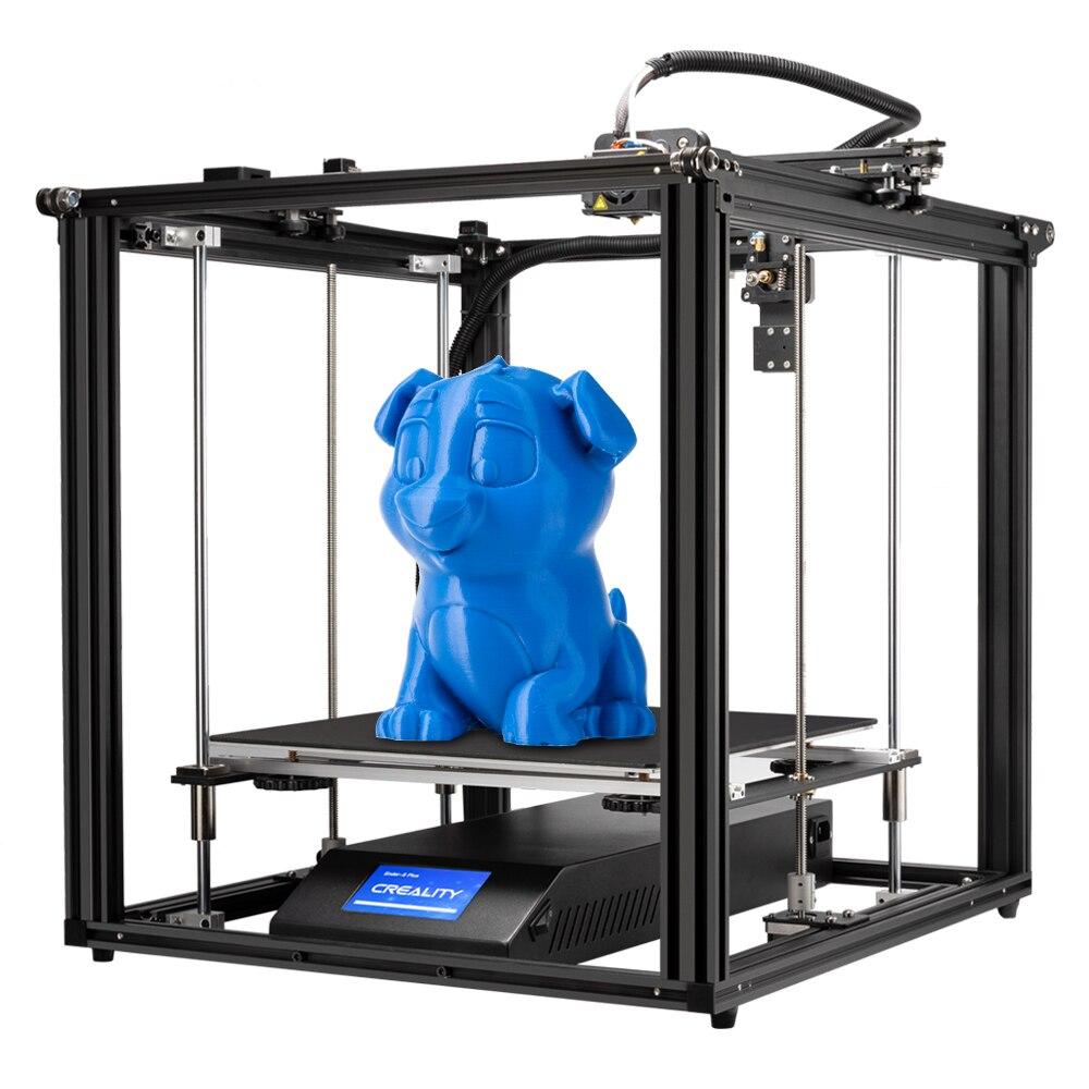 Ender-5 Plus imprimante 3D haute précision grande taille 350*350*400 imprimante 3D nivellement automatique, double axe Z mise hors tension reprendre la créalité 3D