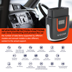 Image 5 - Viecar VP004 VP002 ELM327 V 2,2 Auto Diagnose Auto Werkzeug WIFI ULME 327 OBD2 Elm327 OBD USB Scanner Code Reader für Android/IOS