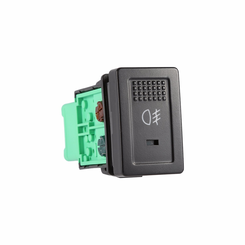 1 pçs interruptor da lâmpada de luz de nevoeiro da frente do automóvel botão se encaixa sx4 swift grand vitara 2006-12 100% novo preto & verde 5 das portas