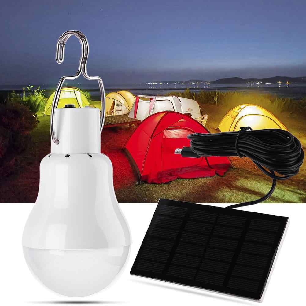 12LED 110LM Solar Lampe Powered Tragbare Led-lampe Licht Outdoor Camping Zelt Licht Solar Panel Camp Zelt Nacht Angeln Licht
