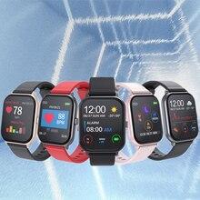 Умные часы T55, водонепроницаемые спортивные часы для фитнеса, трекер сердечного ритма, напоминания о звонках/сообщениях, Bluetooth, умные часы для Android iOS