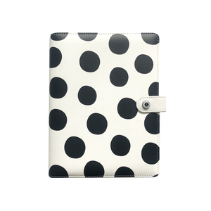 Image 1 - Lovedoki Black White Polka Dot Personal Diary A5 Spiral Notebook Planner Organizer Business School &Office Stationery Supplies
