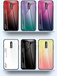 На Алиэкспресс купить стекло для смартфона colorful tempered glass phone case for nokia x6 7 8 7.1 3.1 x7 9 4.2 1 x71 plus protective back cover case coque