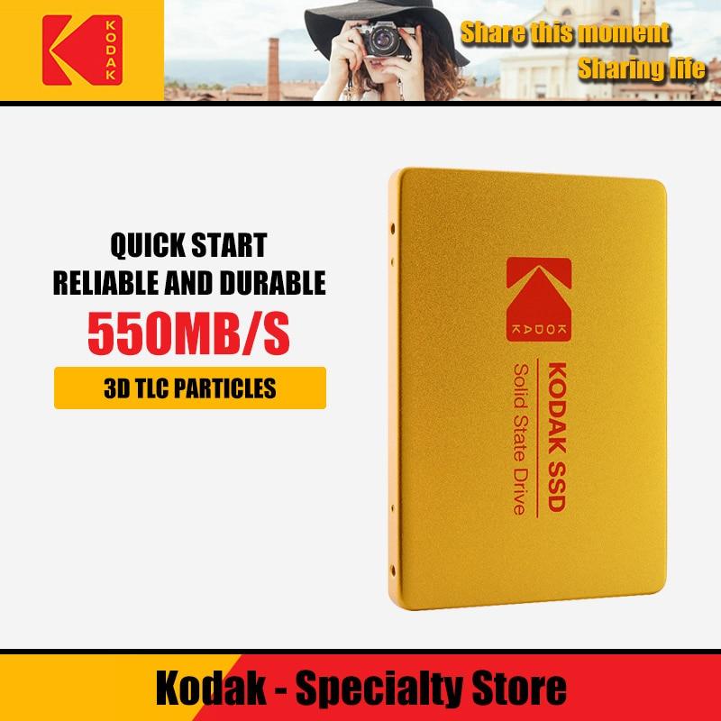 Kodak X100 SSD HDD Hard Disk HD 120GB 240GB 480GB 960GB 2.5 Inch SATA 3 Internal Solid State Disk For Laptop Desktop PC TLC