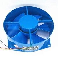 200fzy7 d único flange ac380v 65 w ventilador de fluxo axial ventilador caixa elétrica ventilador de refrigeração direção do vento ajustável Exaustores     -