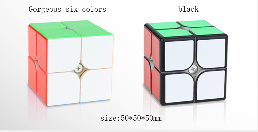 Kawaii Toy Gift Box Pocket Rotation Magic Cube Sticker Speed Cube Carbon Magic Cube Puzzles Puzzle Game