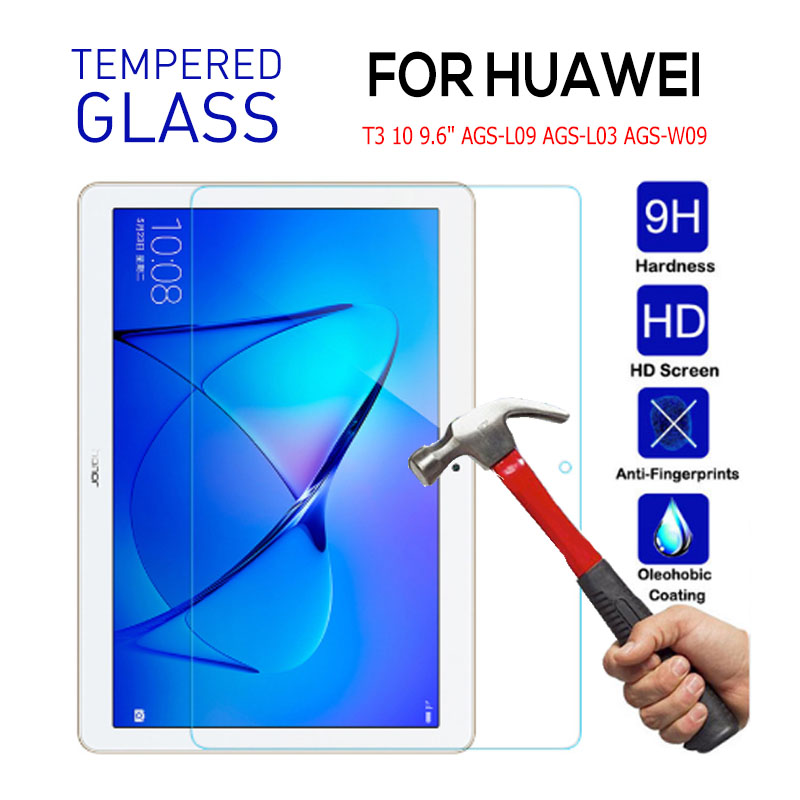 Tempered Glass For Huawei Media Pad T3 10 Screen Protector For Huawei Honor Play Pad 2 9.6