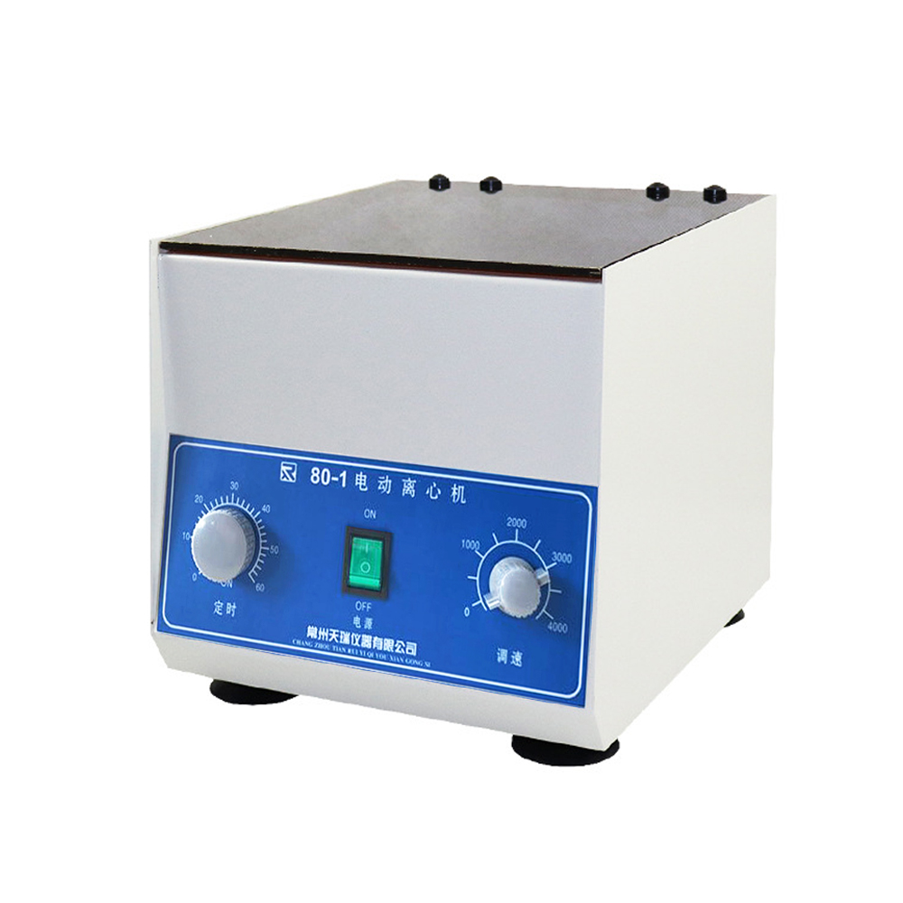 4000rpm Electric Centrifuge Laboratory Medical Practice Machine PRP Serum Separation 80-1 Desktop Lab Centrifuge With 20ml Tubes