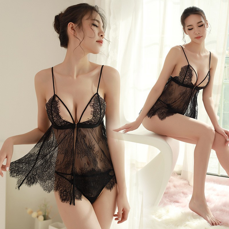 Women Lingerie Plus Size Women Lingerie Babydoll Sex Clothes Ropa Interior Femenina Sexy Erotica Lenceria Sexy Hot Caliente
