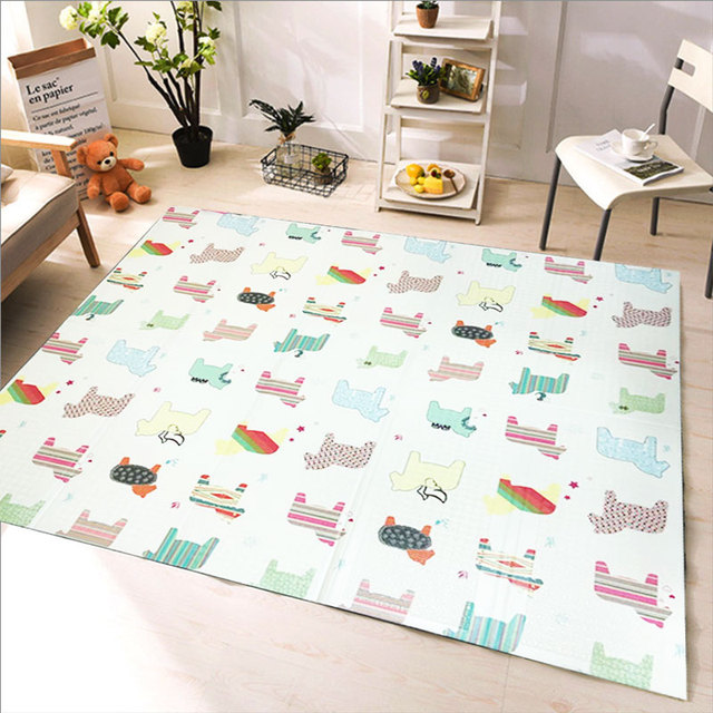 XPE Play Mat /kids Rugs Toys Carpet for Childrens Exercise Floor Tiles Folding Mat Game Pad for babies