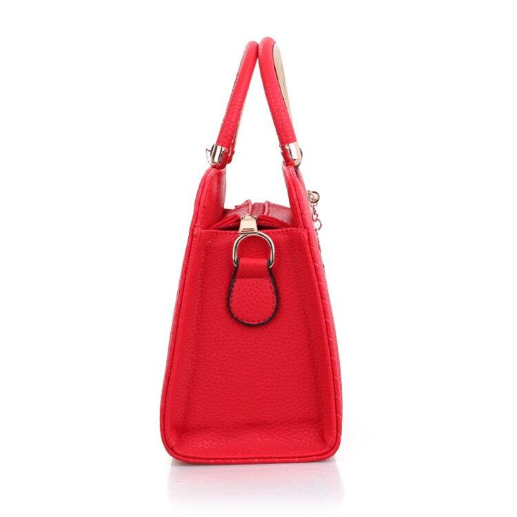 tote simples top-lidar com sacos de mão feminina senhoras