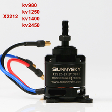 RC Drone Brushless Motor Original SunnySky X2212  For Quadcopter FPV  KV980 / KV1250 / KV1400 / KV2450 free shipping sunnysky angel a2216 kv880 kv1250 brushless motor for multicopter kk mwc quad airplane rc model