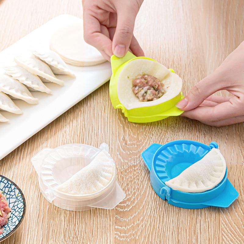 Sale Kitchen Rapid Dumpling Packer Household Manual Pinch Dumpling Mould Useful Product Kitchen Tools Dumpling Mold