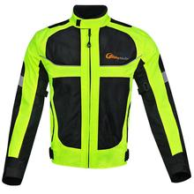 Motorcycle Breathable Racing Suits Protective for Men Cycling Reflective Clothes