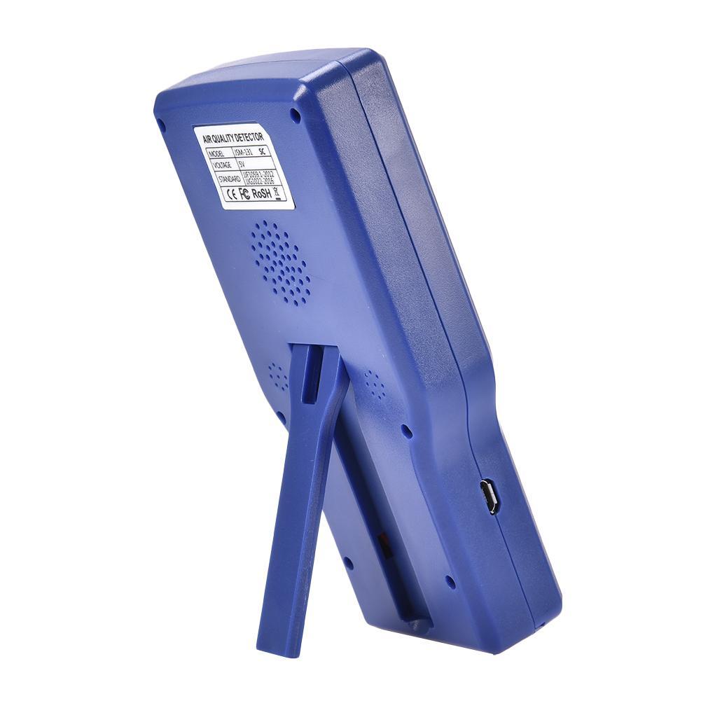 Détecteur de dioxyde de carbone portable, moniteur de qualité de l'air, analyseur de gaz, numérique fiable, capteur de CO2