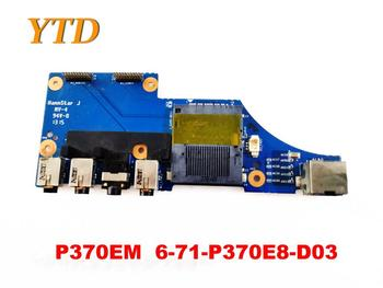 Original para Clevo P370EM tarjeta de Audio P370EM 6-71-P370E8-D03 probada buena envío gratis