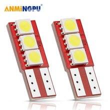 Anmingpu 2x светодиодная сигнальная лампа t10 5050smd w5w led