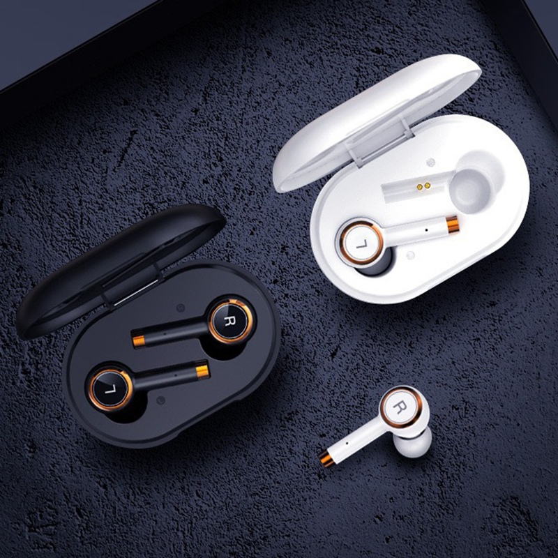New L2 TWS Earphone Wireless Bluetooth 5.0 Earbuds Smart Binaural Noise Reduction Sports Headset With Charging Box