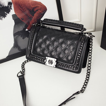 Classic Diamond Lattice Women Messenger Bags Famous Brand CC Chains Leather Shoulder Bags High Quality Lock Cover Lady Small Bag