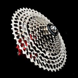 Image 4 - SUNSHNE MTB 11 Geschwindigkeit 11 50 t Kassette 365g Ultraleicht Fahrrad Freilauf 11 t Fahrrad Teile Berg Fur shimano M9000 M800