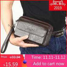 Men's Clutch Bags for men Genuine Leather Hand Bag