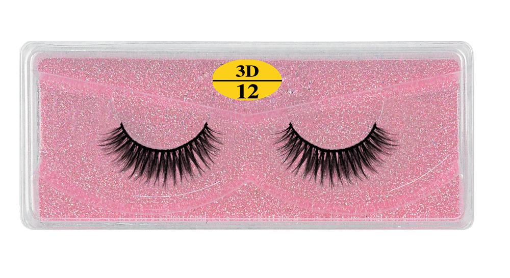 H0090f1a8064d425e8e75176998fde5a4F - MB Eyelashes Wholesale 40/50/100/200pcs 6D Mink Lashes Natural False Eyelashes Long Set faux cils Bulk Makeup wholesale lashes