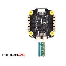 HIFIONRC – capteur de courant intégré, 30.5mm, 45A 60A blheli _ 32 Dshot1200, ESC sans balais 6S, pour les Drones à longue portée de Freestyle de course FPV
