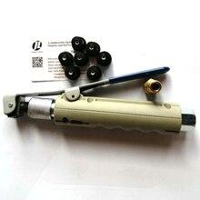 Air Sand Blasting Gunสำหรับ5 20Gallonโทรศัพท์มือถือSandblaserถัง7ชิ้นหัวฉีดและ1ทองแดงFitting