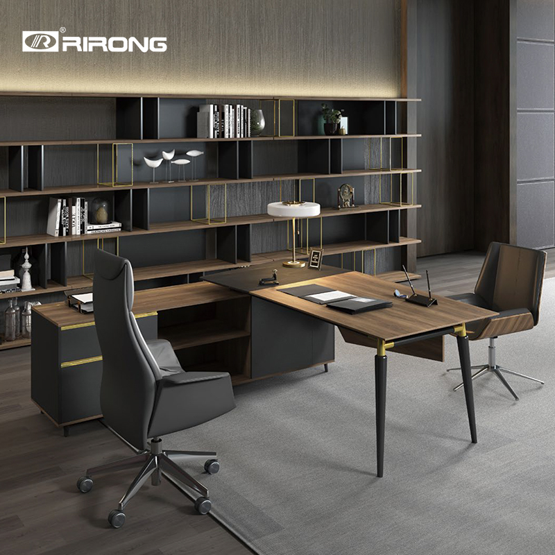 Modern Design Home Office Study Furniture Wood Filing Cabinet Metal Storage Bookcase Decoration Cabinet