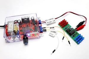 Image 4 - Eu 220 v diy LM317 可変電圧電源ボード学習キットとケース