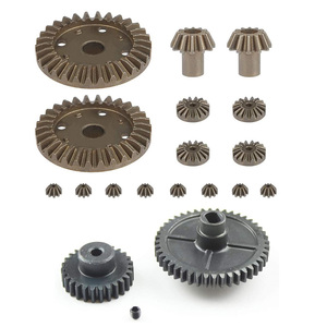 Для Wltoys 144001 1/14 RC Запасные части для автомобиля, усовершенствованный металлический двигатель, дифференциальный редуктор