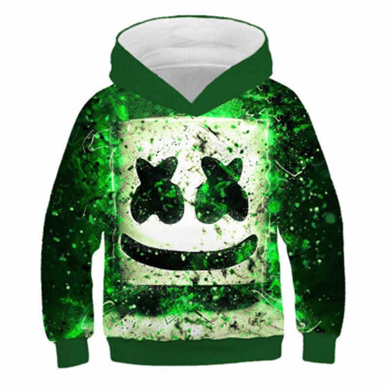 2020 kinder Mit Kapuze Hoodies DJ Universum Sterne Kreative Design Junge/Mädchen 3D Drucken Sweatshirts Kinder Kleidung Tops