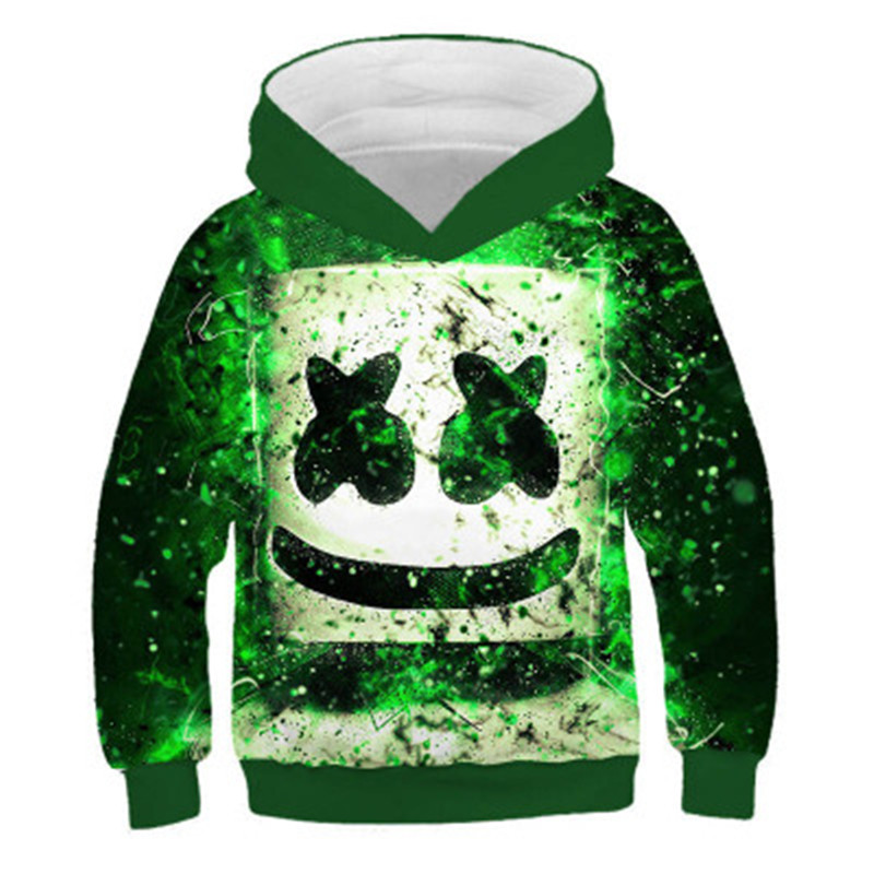 Kids Hoodies Spring Girls Boys Pullover Long-Sleeve Children 3D Autumn Outerwear title=