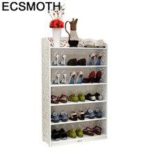 купить Scarpiera Sapateira Minimalist Schoenen Opbergen Armario Zapatera Wooden European Mueble Organizer Furniture Home Shoe Cabinet дешево
