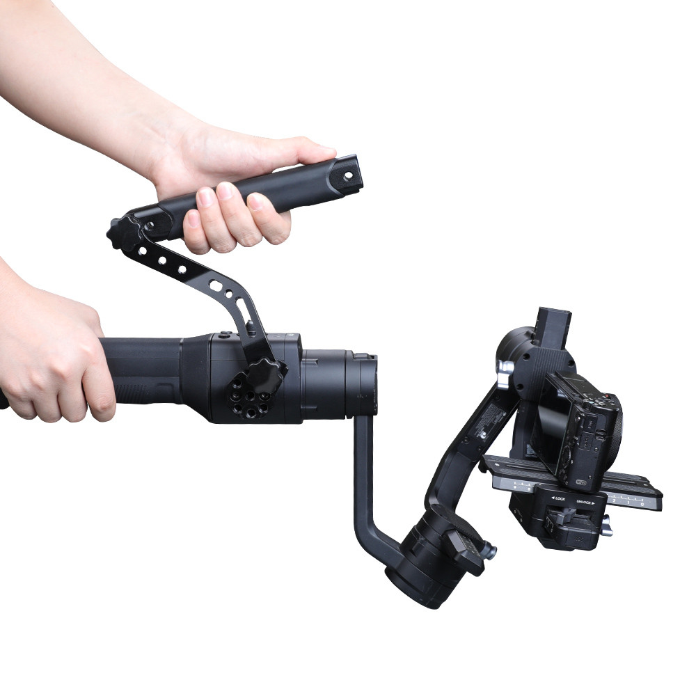 A Set Of handle-type Expanders Folding Handheld Handle Sling Grip Stabilizer Accessory For DJI Ronin-S/Ronin-SC