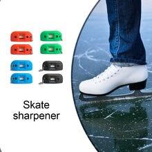 2 шт Песчаник Хоккей обуви двухсторонняя точилка лезвие коньков
