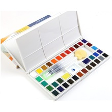 Marie's Solid Watercolor Paints 18/24/36/48 Colors High Qual