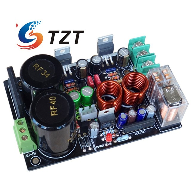 TZT CG Version LM1875 Lower Distortion Amplifier Board Low Distortion Amplifier Kit DIY